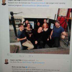 Bezoek kamerlid Van Dijk (SP)
