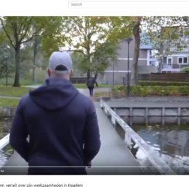 Straathoekwerker Salem uit Haarlem vertelt