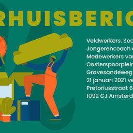 Gebiedsteam Oost verhuist per 21 januari naar Pretoriusstraat 62-A te Amsterdam!